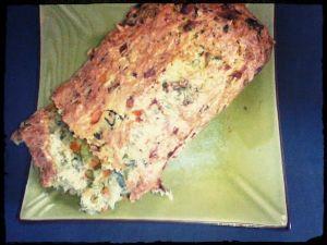 Cake aux légumes pour les enfants