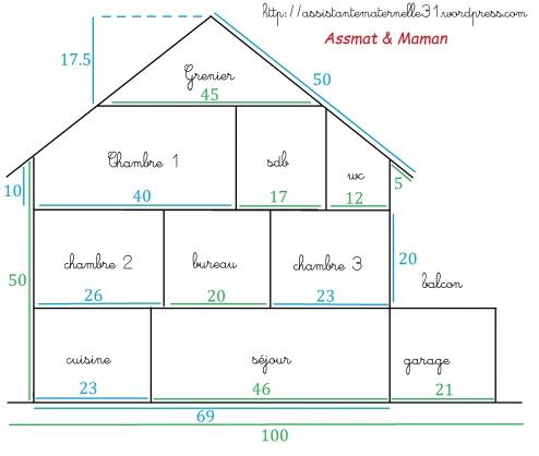 Plan maison playmobil poupée