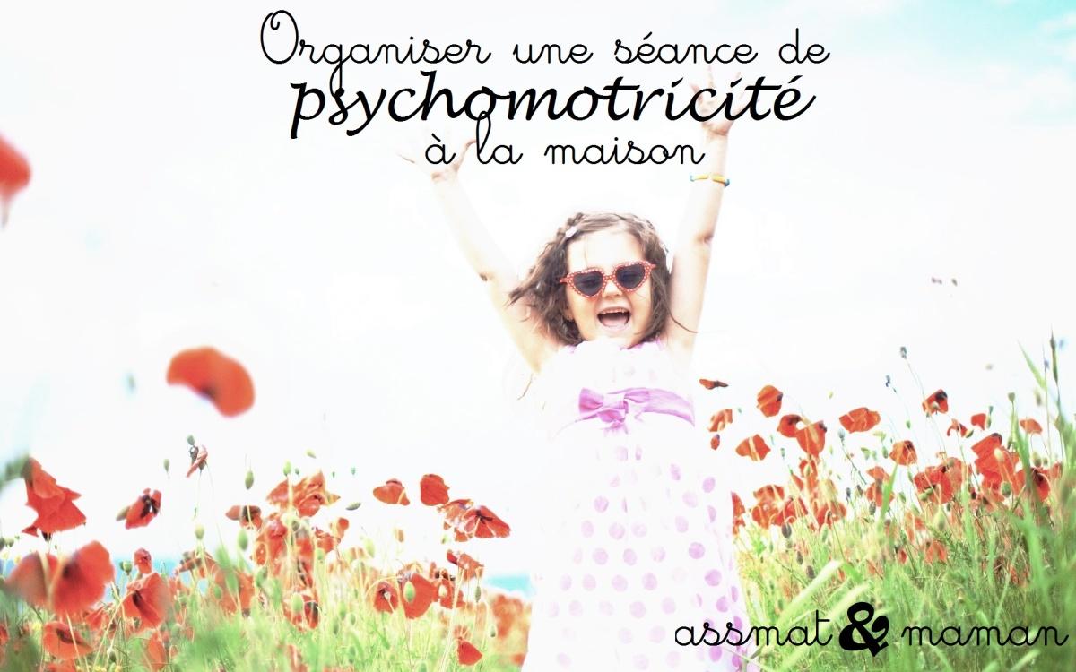 Une séance de psychomotricité