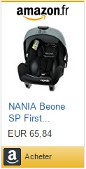 Nania be one securange siege auto coque
