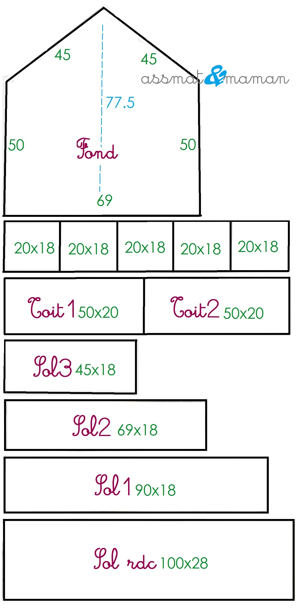 Plan maison playmobil ea76 jornalagora - Plan maison de campagne playmobil ...
